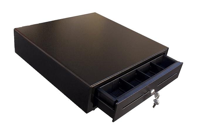 Caja Registradora iqcash410bzb 41 x 41 x 10 cm para bizerba Báscula (SW de 800 y SC de 800), caja compartimento Caja registradora Dinero Dinero de carga ...