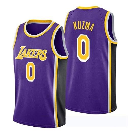 CHXY Camiseta De Baloncesto para Hombre Baloncesto Kyle Kuzma # 0 ...