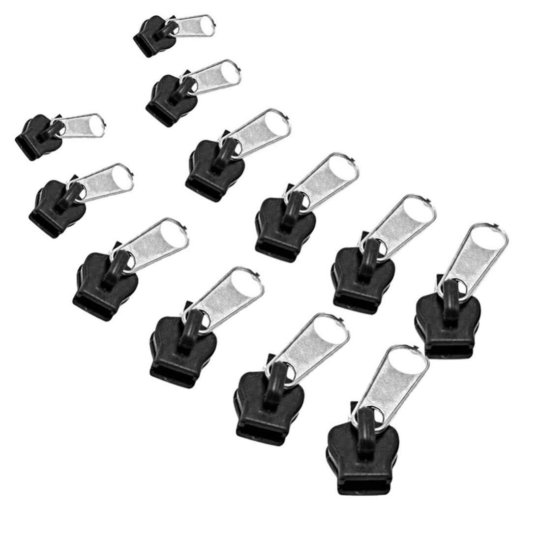 ECYC® 12pcs Fix Cremallera De Repuesto con Cremallera Kit De ReparacióN InstantáNea: Amazon.es: Hogar