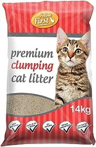 Feline First Premium Clumping Cat Litter 14 kg