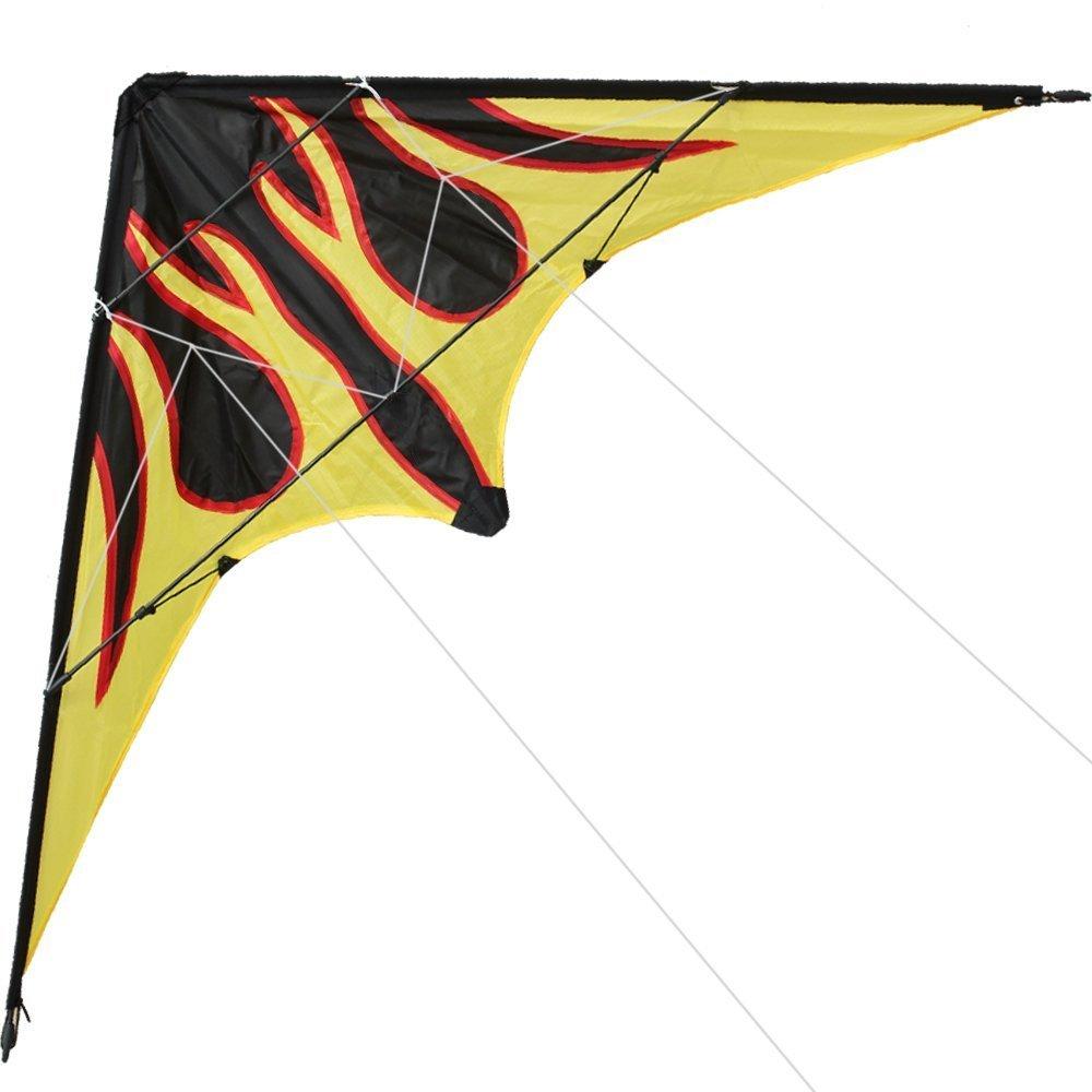 Hengda kite 70インチ/48インチ スタントカイト B01NAMD0T6 アウトドアスポーツ Hengda 楽しいおもちゃ デュアルラインスポーツカイト Inch カイトラインとバッグ付き B01NAMD0T6 Fire-48 Inch Fire-48 Inch, ブランディング2号店:8a4fb2e7 --- ferraridentalclinic.com.lb