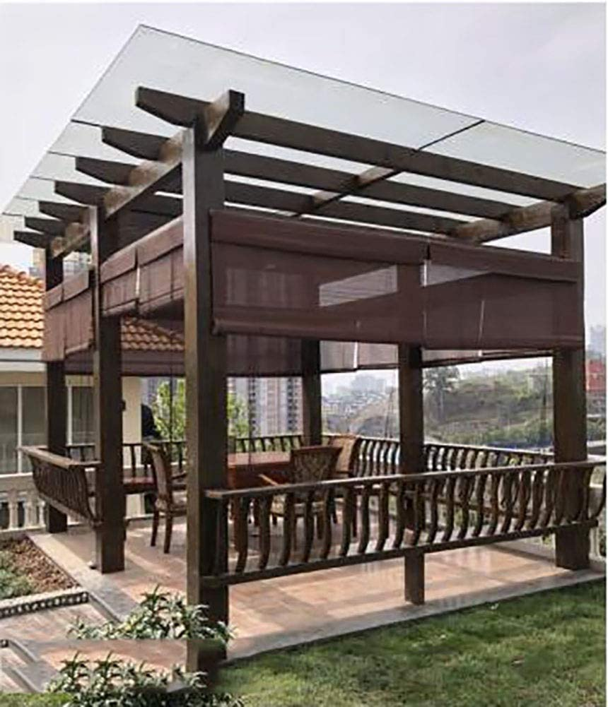 Persianas de bambú Persianas Enrollables de Madera de Montaje Exterior para Porche Gazebo Carport Patio, 85cm/105cm/125cm de Ancho (Size : 85×220cm(W×H)): Amazon.es: Hogar