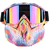 1f05b395780 Subcluster Tactical Mask Rival Face Mask Protective Mirror Face Mask for  Nerf (Color6)