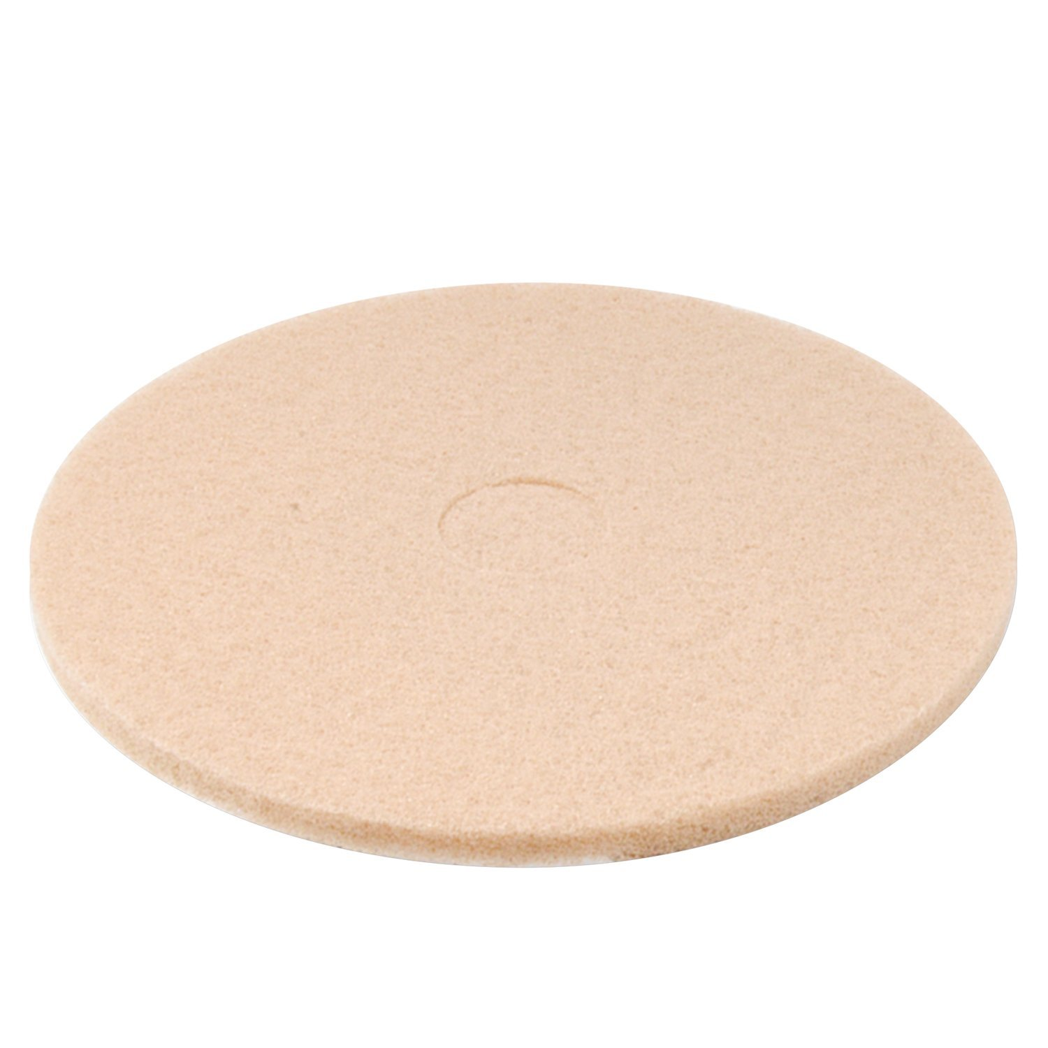 Premiere Pads 4020ULT Synthetic Fiber Ultra High-Speed Floor Pad, 20'' Diameter, For High Gloss, Champagne (Case of 5)