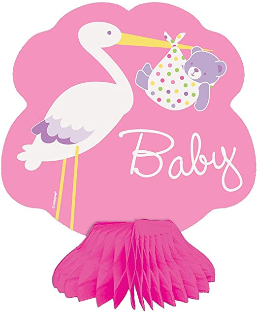 4ct 3pack unique industries 6 Mini Pink Elephant Girl Baby Shower Centerpiece Decorations
