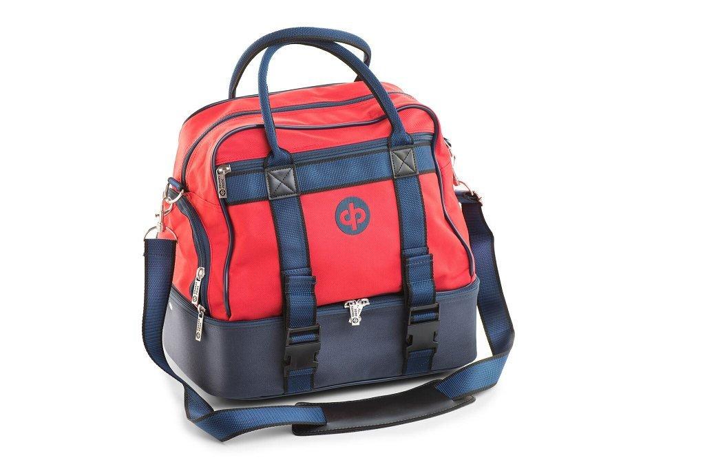 Drakes Pride Midi Bowls Bag - Red by Drakes Pride