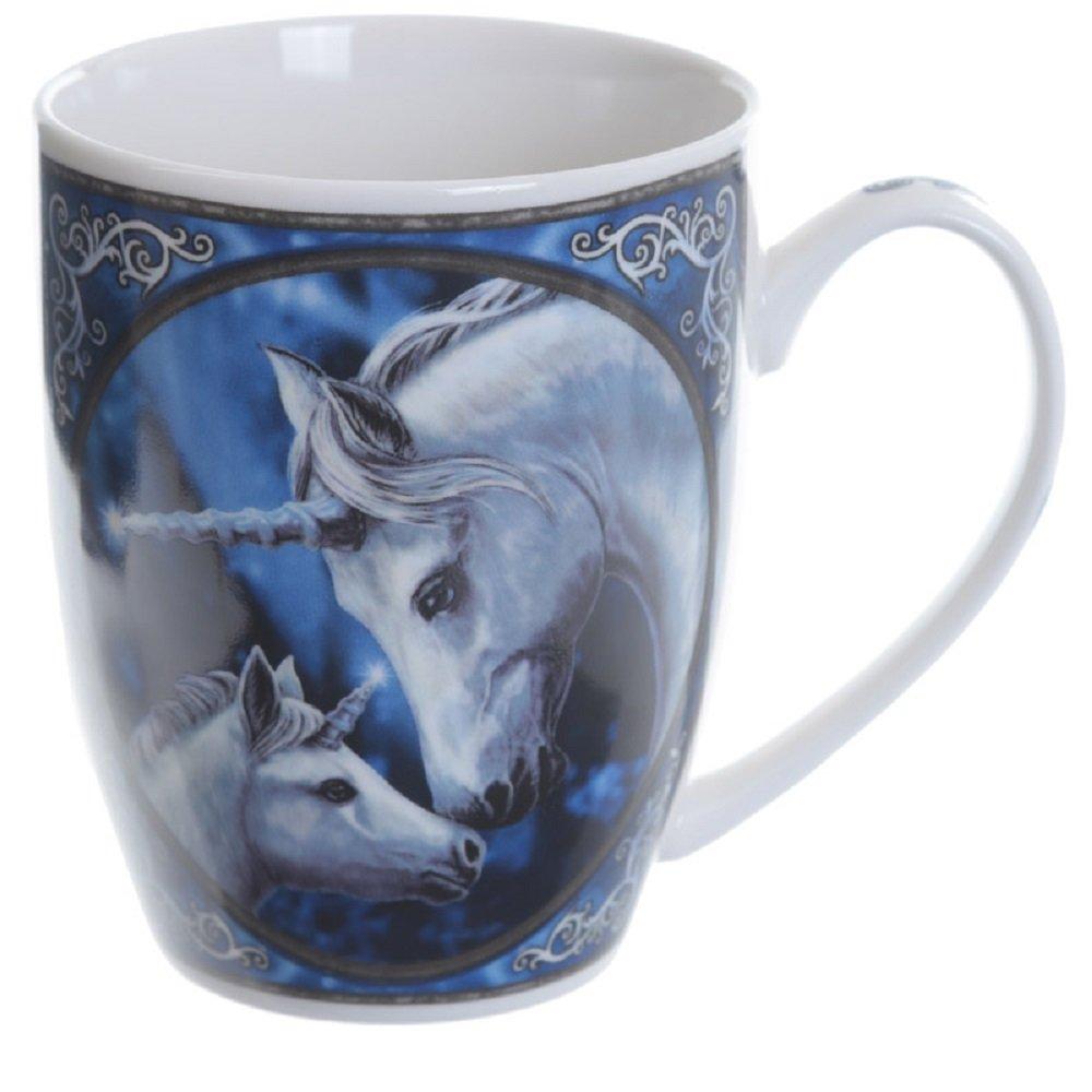 Animal Design Ceramic Mug Milk Coffee Cup Birthday Gift Christmas Gift (Unicorn & Foal) Star Dream