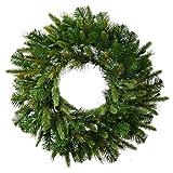 Vickerman 60'' Unlit Cashmere Wreath