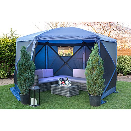 Folding Quick Gazebo Pop Up Canopy Screen House Escape Shelters 6 - Store Oxford Circus 3