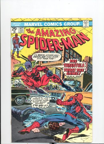 Marvel The Amazing Spider-Man (Vol. 1 No. 147 August 1975) (The Tarantula Is A Very Deadly Beast!) (147 Spiderman Amazing)