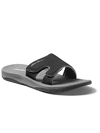 6f6d8371fd40 Amazon.com  Eddie Bauer Women s Break Point Slide Sandal  Clothing
