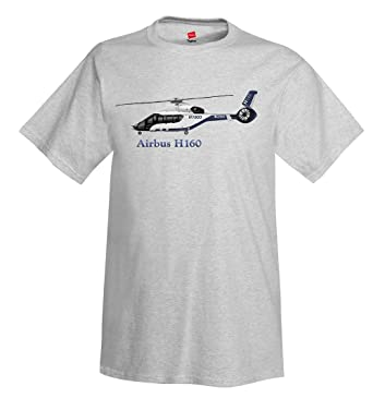 04ac2a222 Airbus H160 Helicopter T-Shirt - Personalized with Your N# | Amazon.com