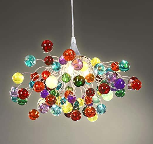 best website a62f7 dd3a4 Multicoloured Chandelier - Ceiling Light - Colorful Lamps ...