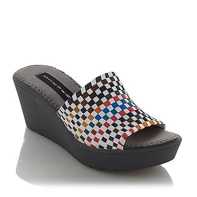 63f53a9ff3c Steve Madden Steven by Women s Sherbert Slide Sandal