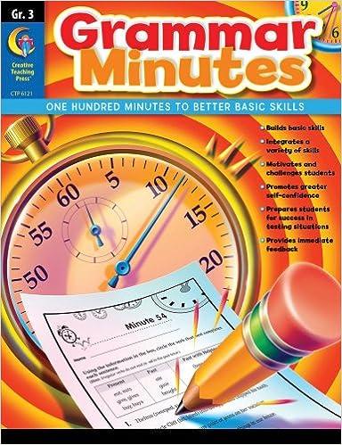 Grammar Minutes, Gr. 3: Carmen Jones: 0030554061219: Amazon.com: Books