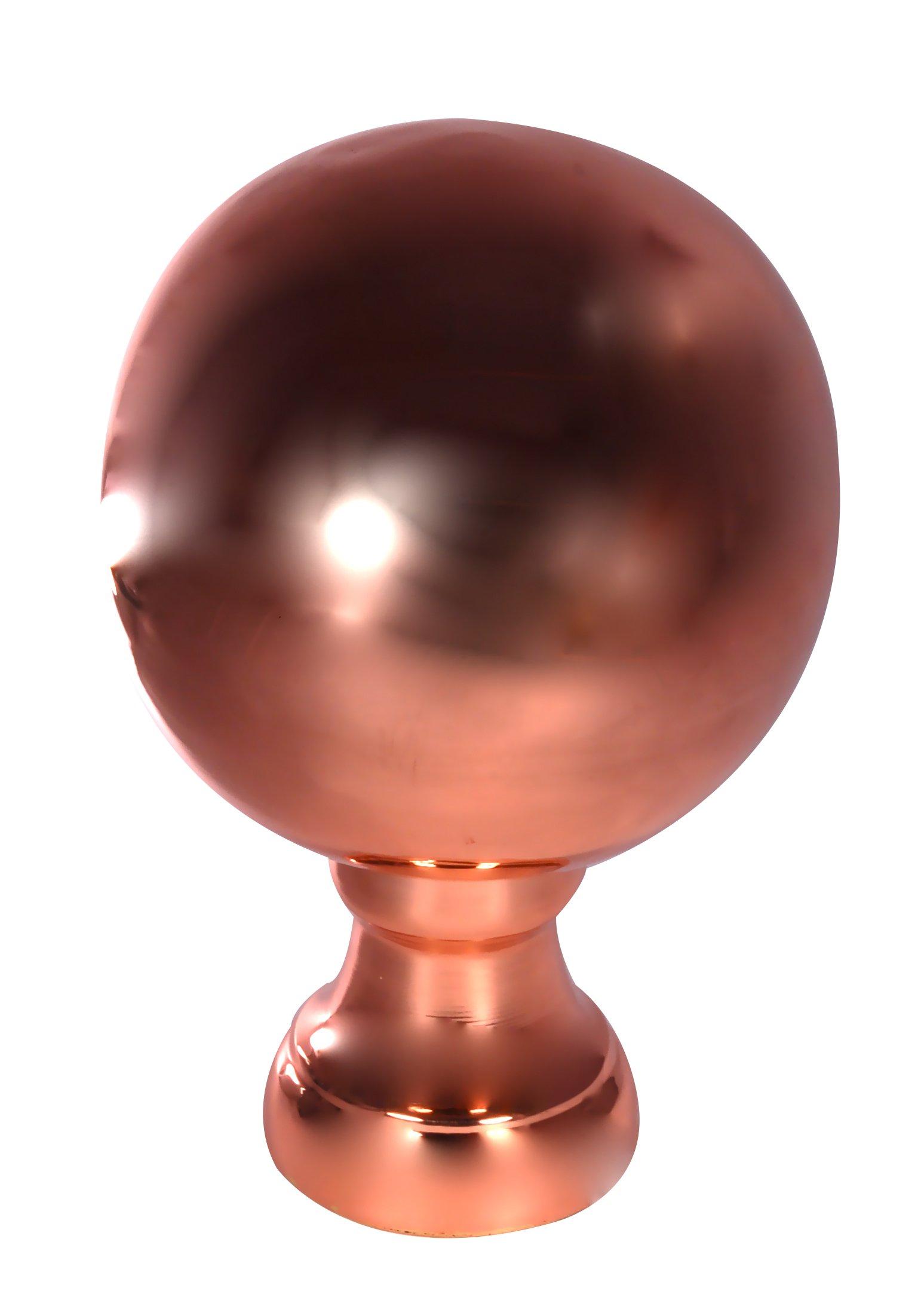Dalvento Large Londoner Finial- Copper Polished