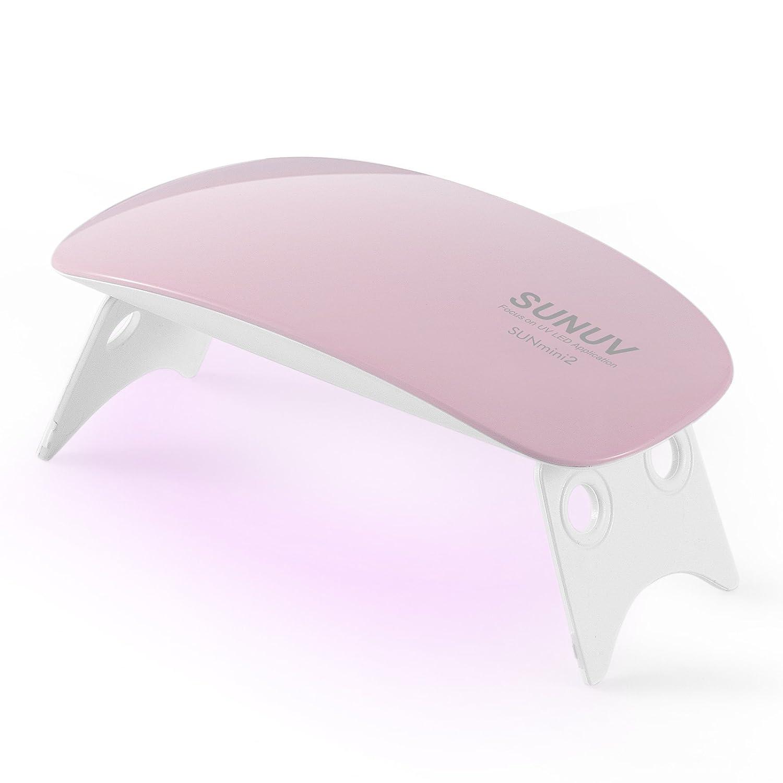 SUN Mini2 6W UV LED Nagellampe Nageltrockner UV Lampe Nail lamp für ...