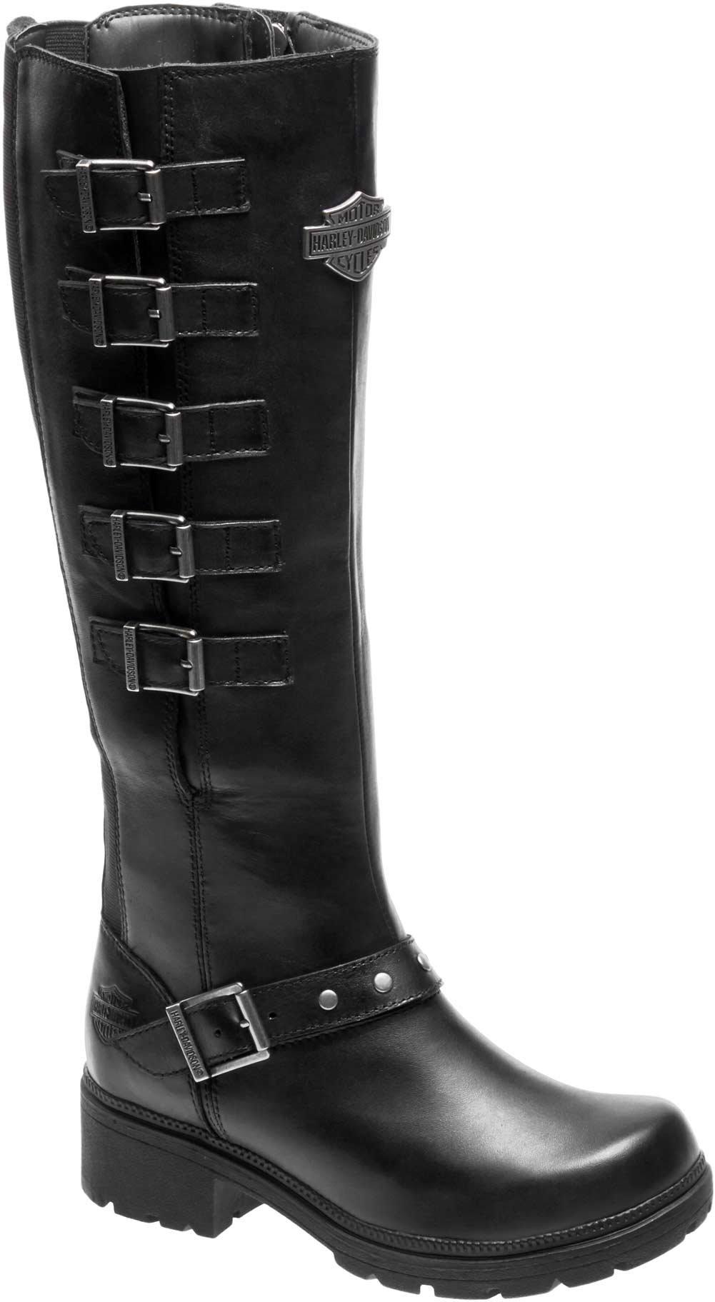 Harley-Davidson Women's Glassford Work Boot, Black, 8 M US