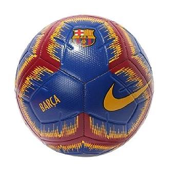 Nike Barcelona Strike 2018/2019 - Balón de fútbol, 4, Deep Royal/University Gold: Amazon.es: Deportes y aire libre