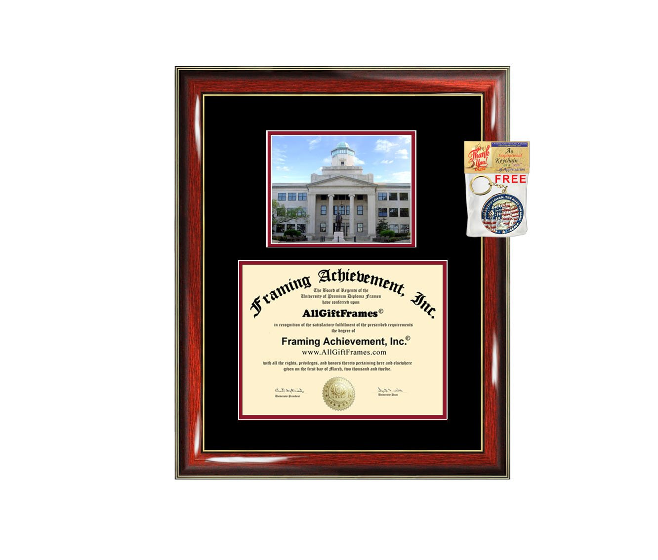 Amazon.com - Western Kentucky University Diploma Frame Campus ...