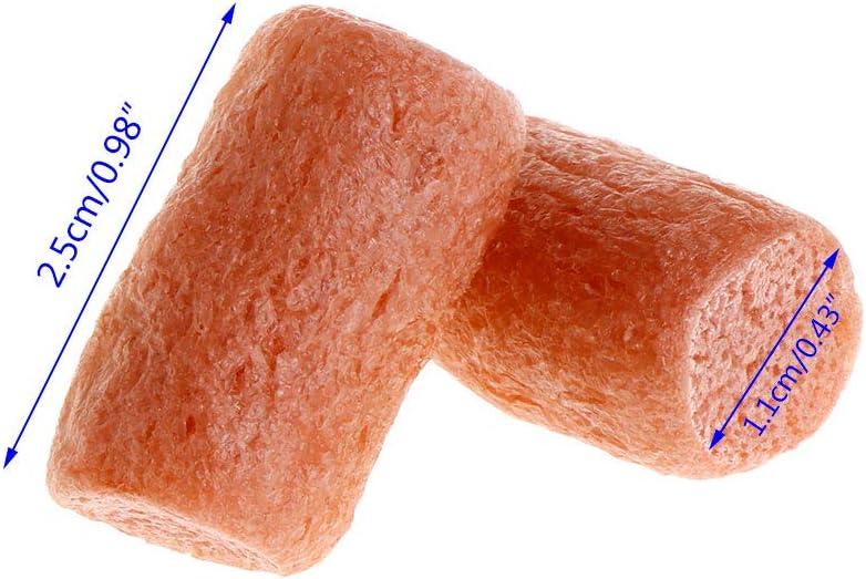 50 Pcs//Bag Fishing Nuggets Water Soluble PVA Foam Water Block Soluble New J8X1