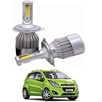 C6 H4 Led Head Light Unit Bulb For Chevrolet Beat Amazon In Car Motorbike