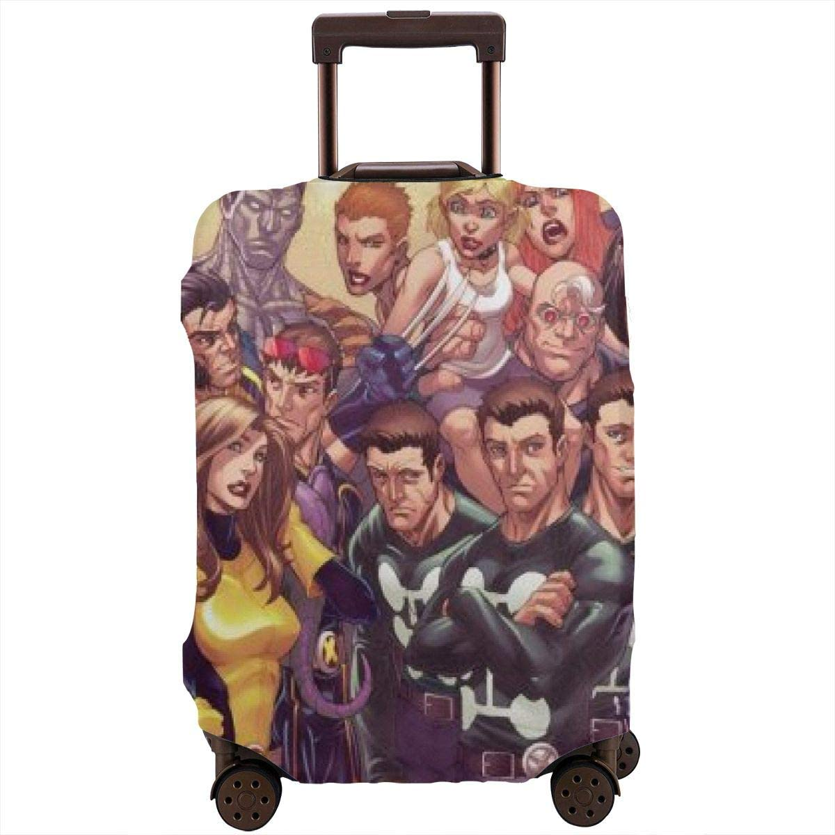 Superhero Comics Xmen Suitcase Protector Travel Luggage Cover Fit
