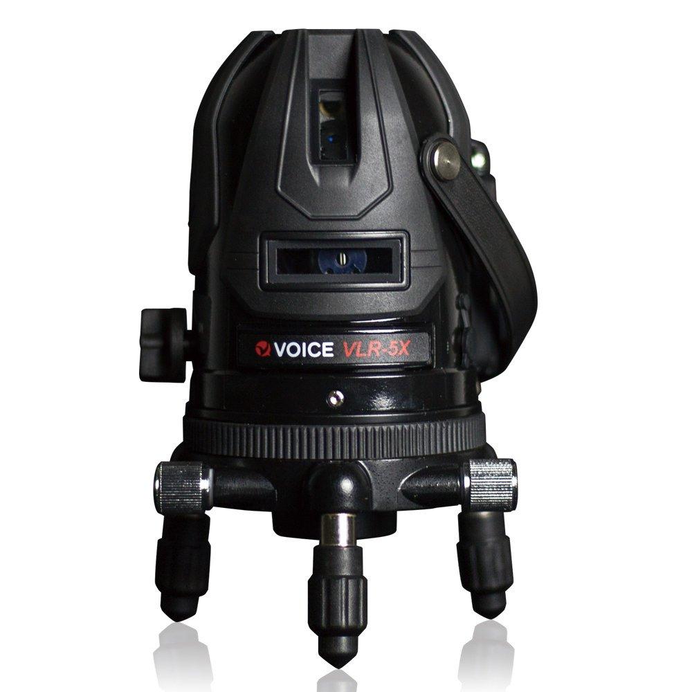 VOICE 5ライン レーザー墨出し器 VLR-5X