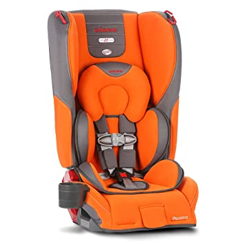Diono Pacifica Seat Sunburst Orange Grey Older Version Discontinued By Manufacturer