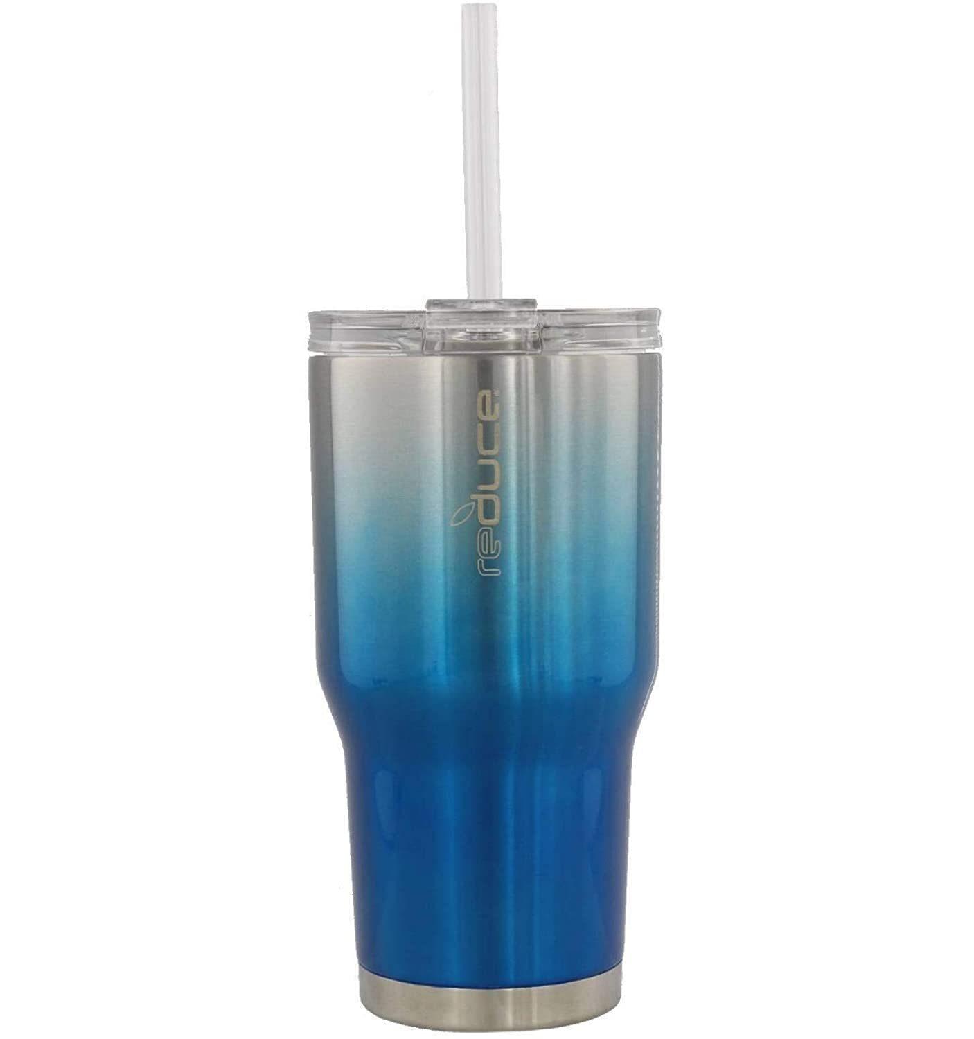 30oz Stainless Steel Tumbler With Straw /& Lid Ideal for Water /& Tea REDUCE COLD-1 Tumbler Reduce Insulated Tumbler Keeps Drinks Hot /& Cold A Perfect Coffee Travel Mug For the Office 2 Pack Set