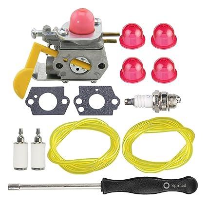 Amazon.com: HIPA c1u-w24 545081808 carburador + Tune Up Kit ...