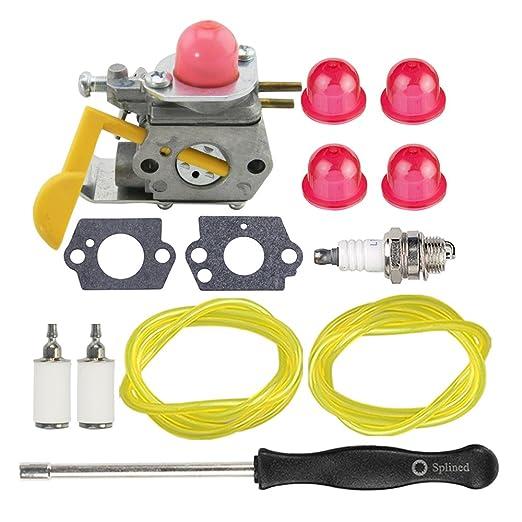 HIPA c1u-w24 545081808 carburador + Tune Up Kit spark plug ...