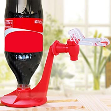 wondeful Bebida Saver Dispensador linkspe Home Bar Coca Cola lata de soda suave potable grifo Rojo Creative: Amazon.es: Hogar