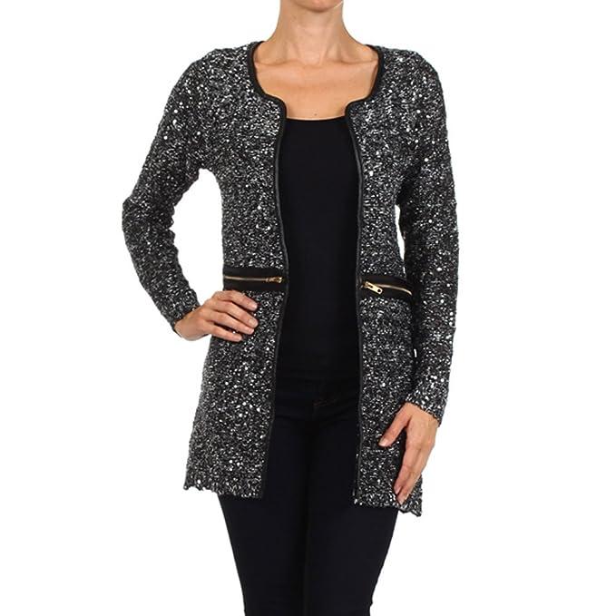 Amazon.com: Las mujeres de invierno elegante textura muslo ...