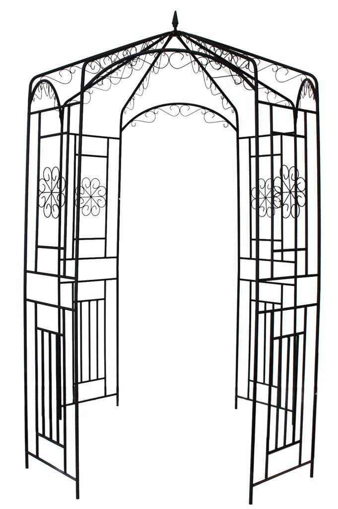 1.Go Steel Garden Arch, 8' High x 5'2