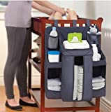 MosQuick Hanging Diaper Organization Storage for Baby Essentials (Blue, cary cot 001)