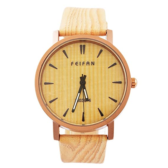 mjartoria Mujer Retro Reloj de pulsera reloj de cuarzo bisutería cuero PU pulsera Mode vetas Diseño Romano Esfera: Amazon.es: Relojes