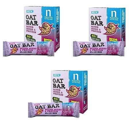 Nairns Oat Bar - Juego de 3 unidades de semillas y ...