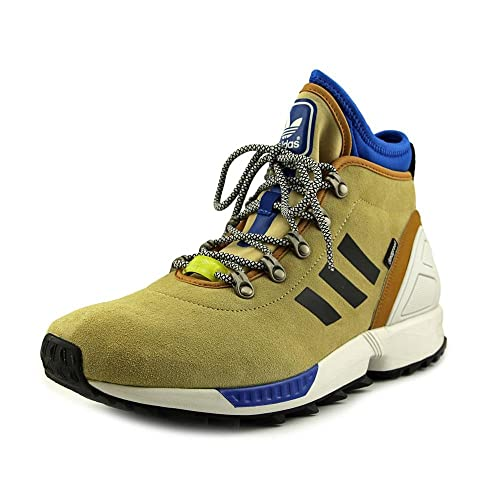923e95846 adidas Mens Originals ZX Flux Winter Shoes S82930 Sand   Core Black    Running White Ftw 8.5 D(M) US  Amazon.in  Shoes   Handbags