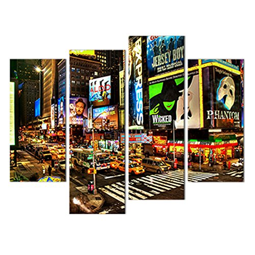 Canvas Painting City Landscape Picture Printed on Canvas