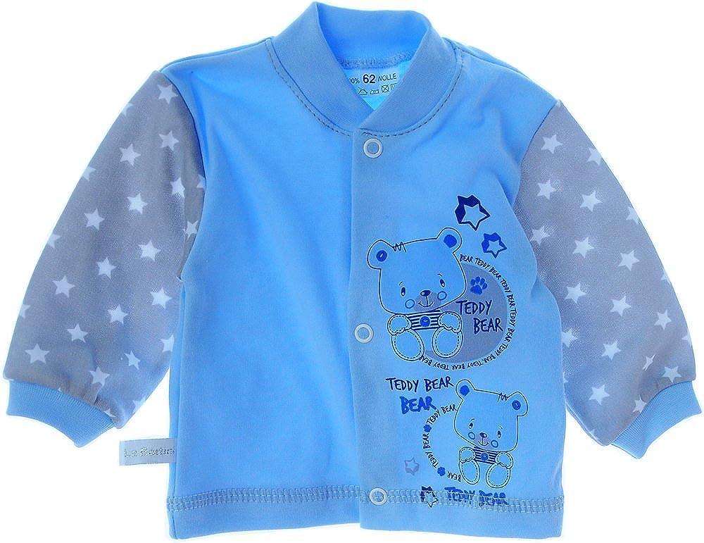 La Bortini Baby Strampler Set 50 56 62 68 74 80 86 92 Stramplerhose /& Shirt Blau