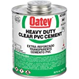 Oatey 31008 Solvent Cement, 32 oz, Clear