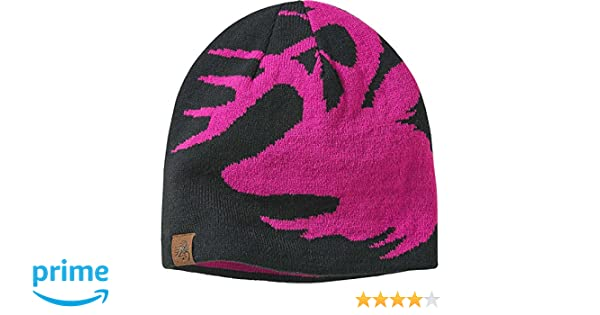 1aabc70fae9 Amazon.com  Legendary Whitetails Kids Signature Buck Beanie Black and Pink   Clothing