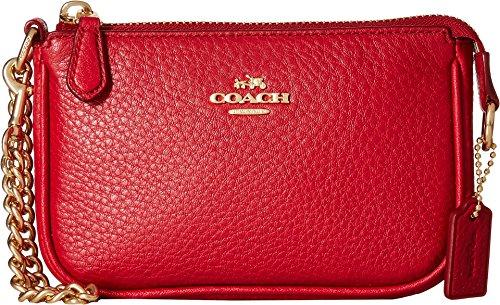 COACH Pebble Leather Small Wristlet 15