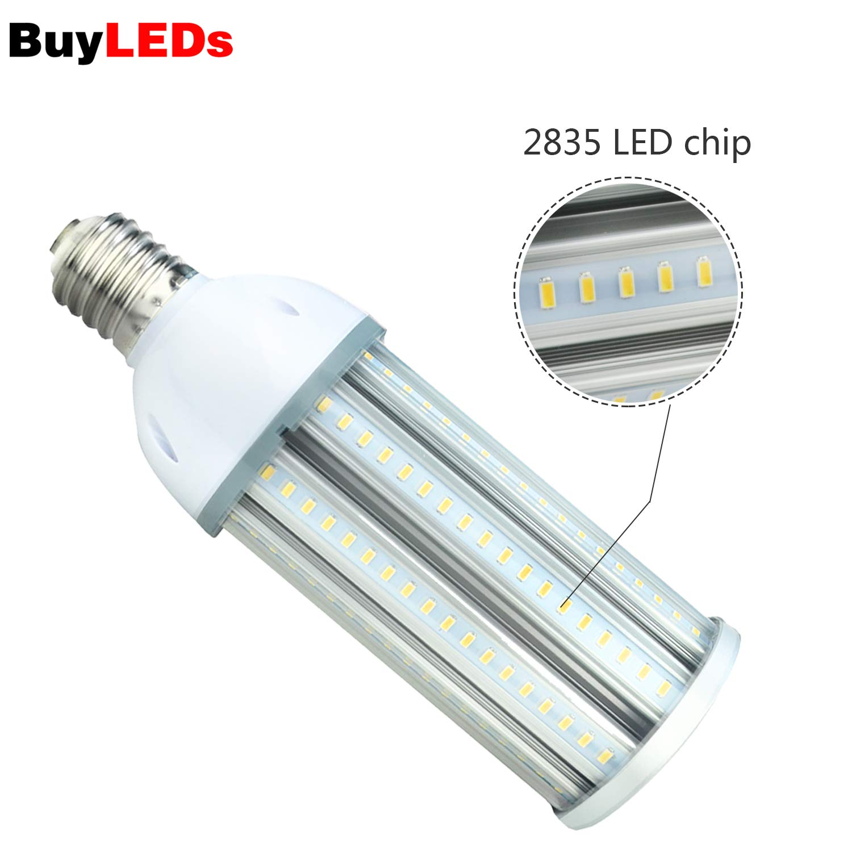 CornLight-100w E39 LED Bulb 100Watt E39 Mogul Base LED Corn Light Bulb,400-500Watt Replacement,6000k Bright White for Warehouse,Garage,Driveway,Street Light