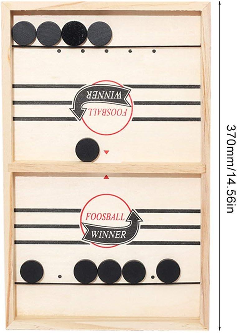 Goldyqin Ganador del futbolín Juego de Mesa Bounce Chess Ajedrez Interactivo Entre Padres e Hijos Bounce Chess Ruffle Ball Desktop Hockey Toy: Amazon.es: Juguetes y juegos
