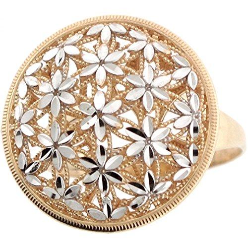 gold filigree ring - 8