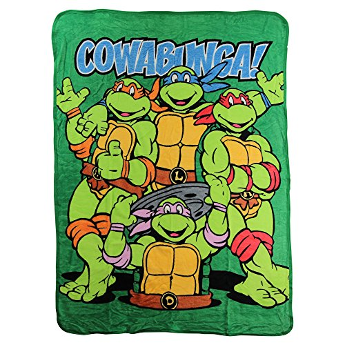 Kid's Colorful Character Micro Raschel Throw Blanket 46