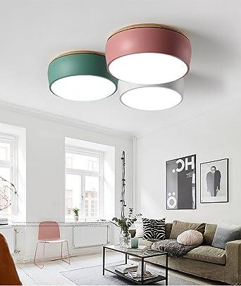 Modern Deckenlampe Nordic Kronleuchter Schlafzimmer Wohnzimmer Küche  Badezimmer Flur Kronleuchter Balkon Schlafzimmer (Farbe : Sand