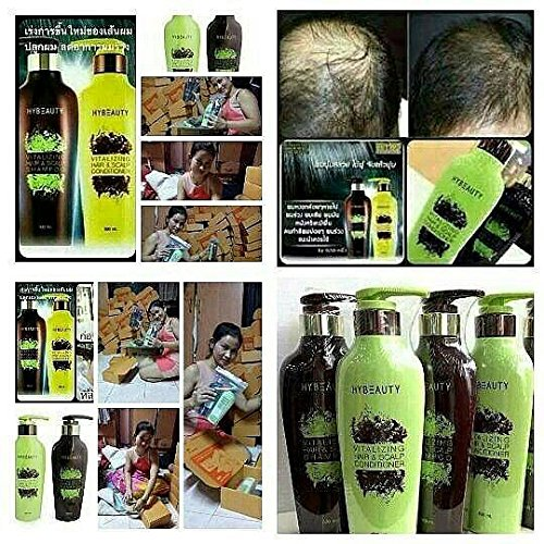 4 bot of Hybeauty Vitalizing Hair & Scalp Shampoo and Conditioner 300 ml.with tracking & gift by bluedragon120vk (Image #7)